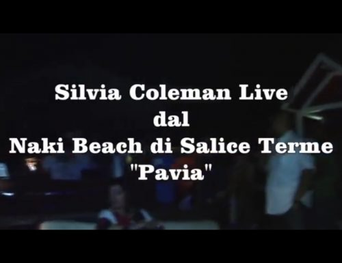 Silvia Coleman al Naki Beach di Salice Terme – Video