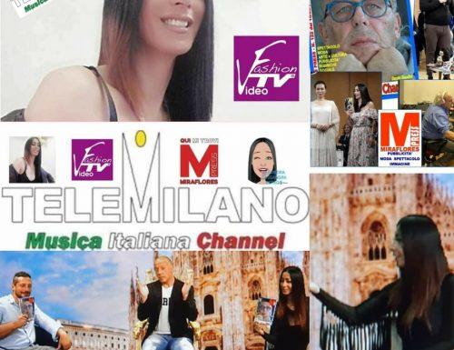 Da Giovedì Tele Milano e VideoFashionTv insieme per la Trasmissione Salotto Espago