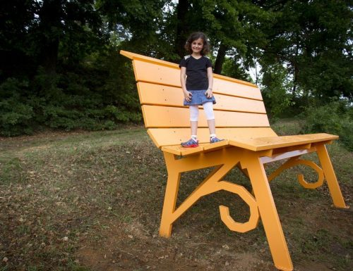 Big Bench, arriva una nuova panchina gigante in Italia
