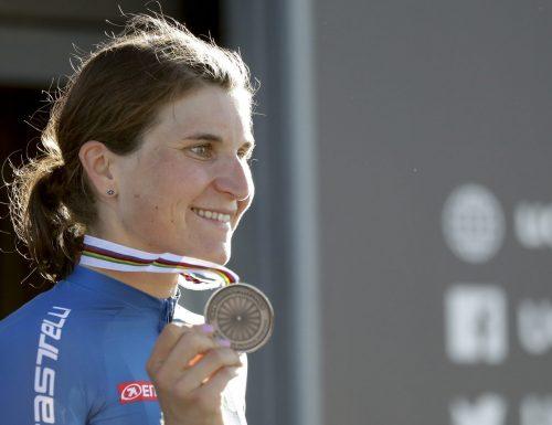 IMOLA 2020 : Bronzo nei Mondiali di Ciclismo  a Elisa Longo Borghini