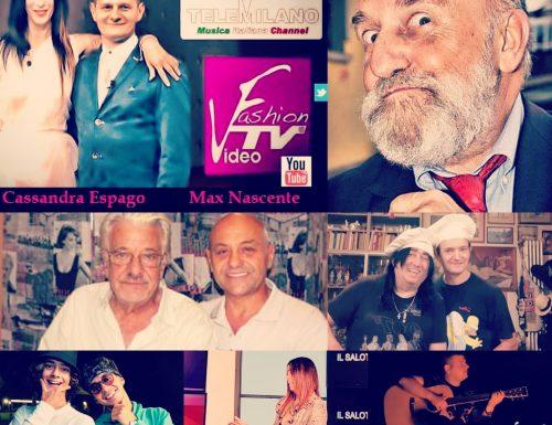Un grande Enrico Beruschi ospite stasera di Salotto Espago dalle 22.30 su Tele Milano , canale 288 DTT