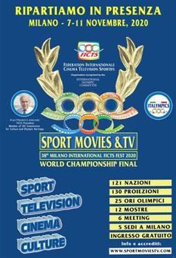 """""""SPORT MOVIES & TV"""": Milano, 7 / 11 Novembre"""