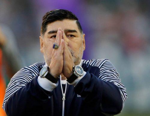 Addio a Diego Armando Maradona