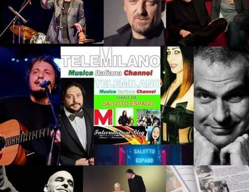 Questa sera alle 21 in streaming live la replica di Salotto Espago da Tele Milano