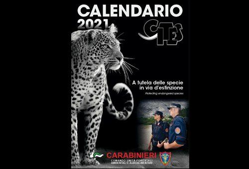 L'Arma dei Carabinieri presenta il Calendario CITES 2021 (Video )