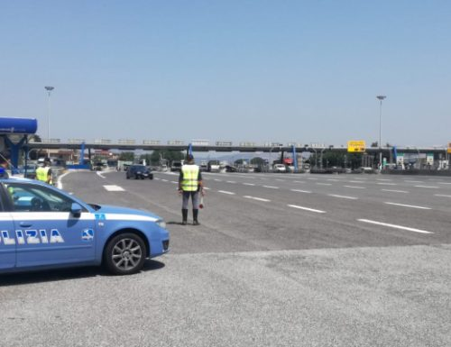 Strade e Autostrade pattugliate dalla Polizia Stradale