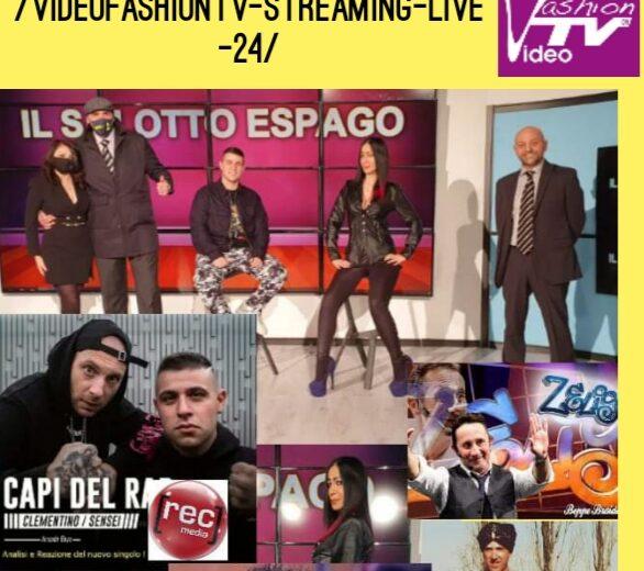 Questa sera alle 21 SALOTTO ESPAGO su VIDEOFASHIONTV